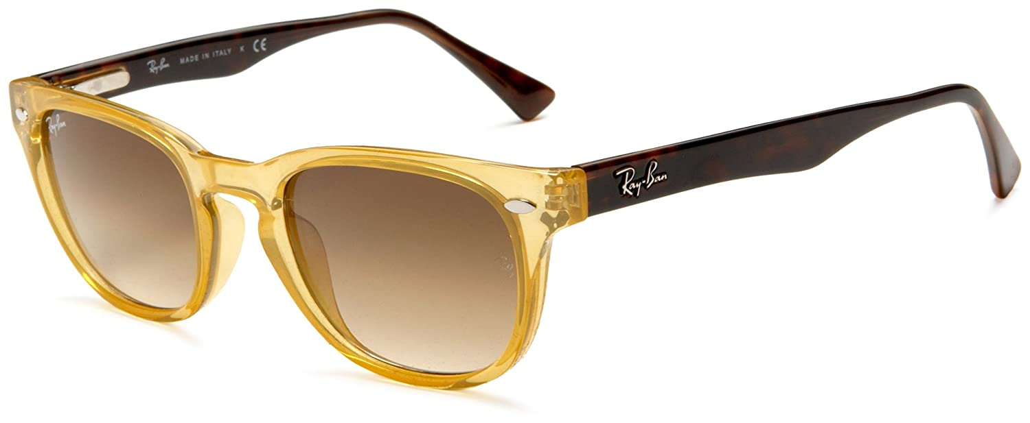 aa75164bd2 Ray Ban Rb 4140 768 51 Opal Yellow Sunglasses  Amazon.co.uk  Clothing