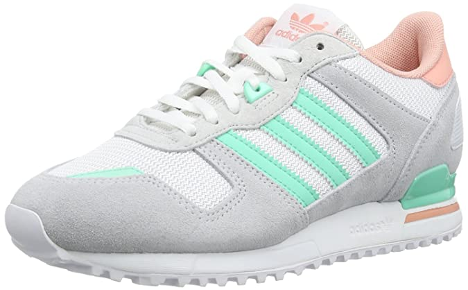 b4fbbed8b9f5a adidas Women s ZX 700 W low-top sneakers Grey Size  8  Amazon.co.uk  Shoes    Bags