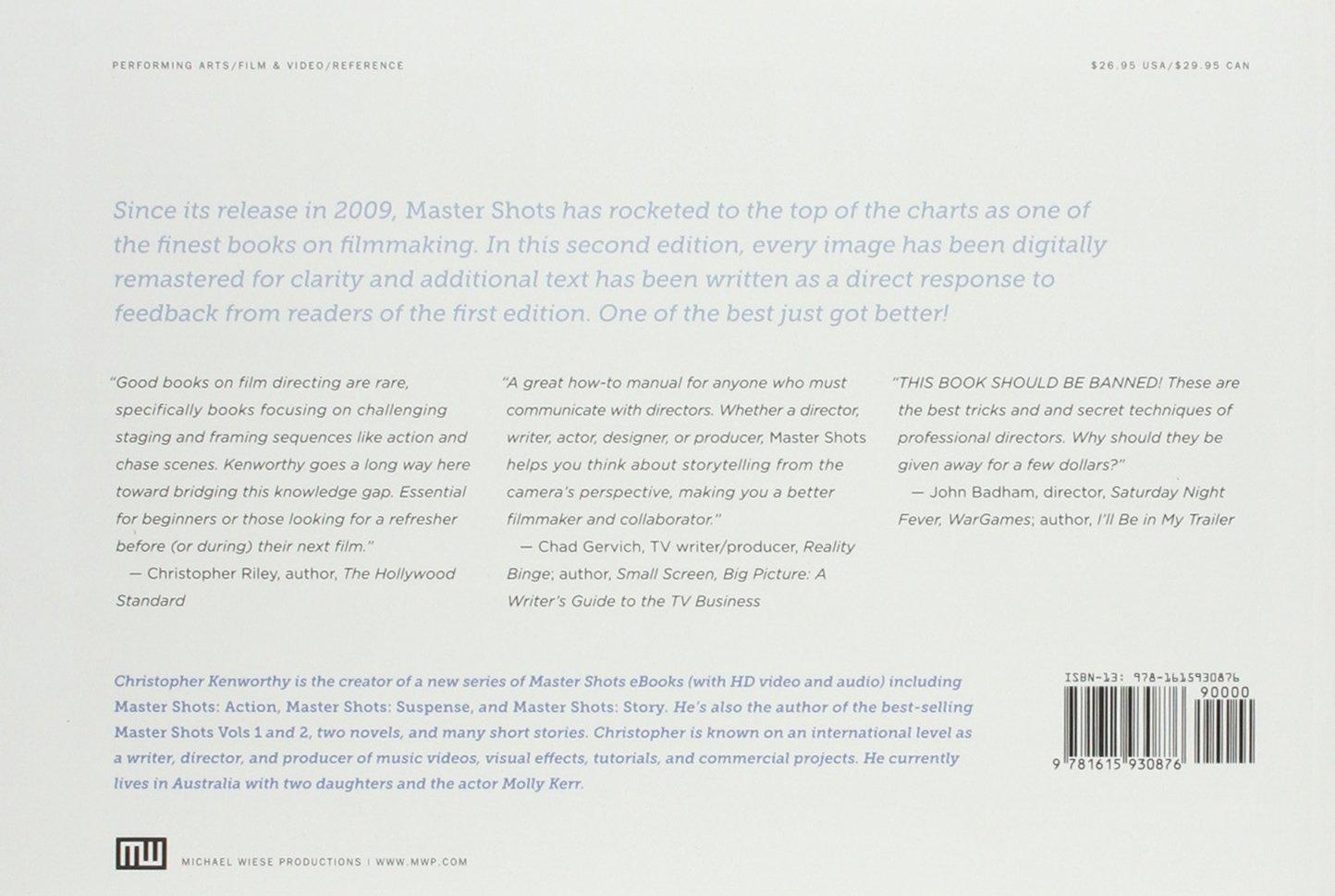 Master Shots Volume 1: Amazon.de: Christopher Kenworthy ...