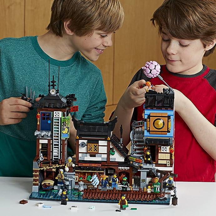 LEGO 乐高 NINJAGO 幻影忍者系列 70657 幻影忍者城市码头 积木玩具 7.8折$179.97史低 海淘转运到手约¥1611
