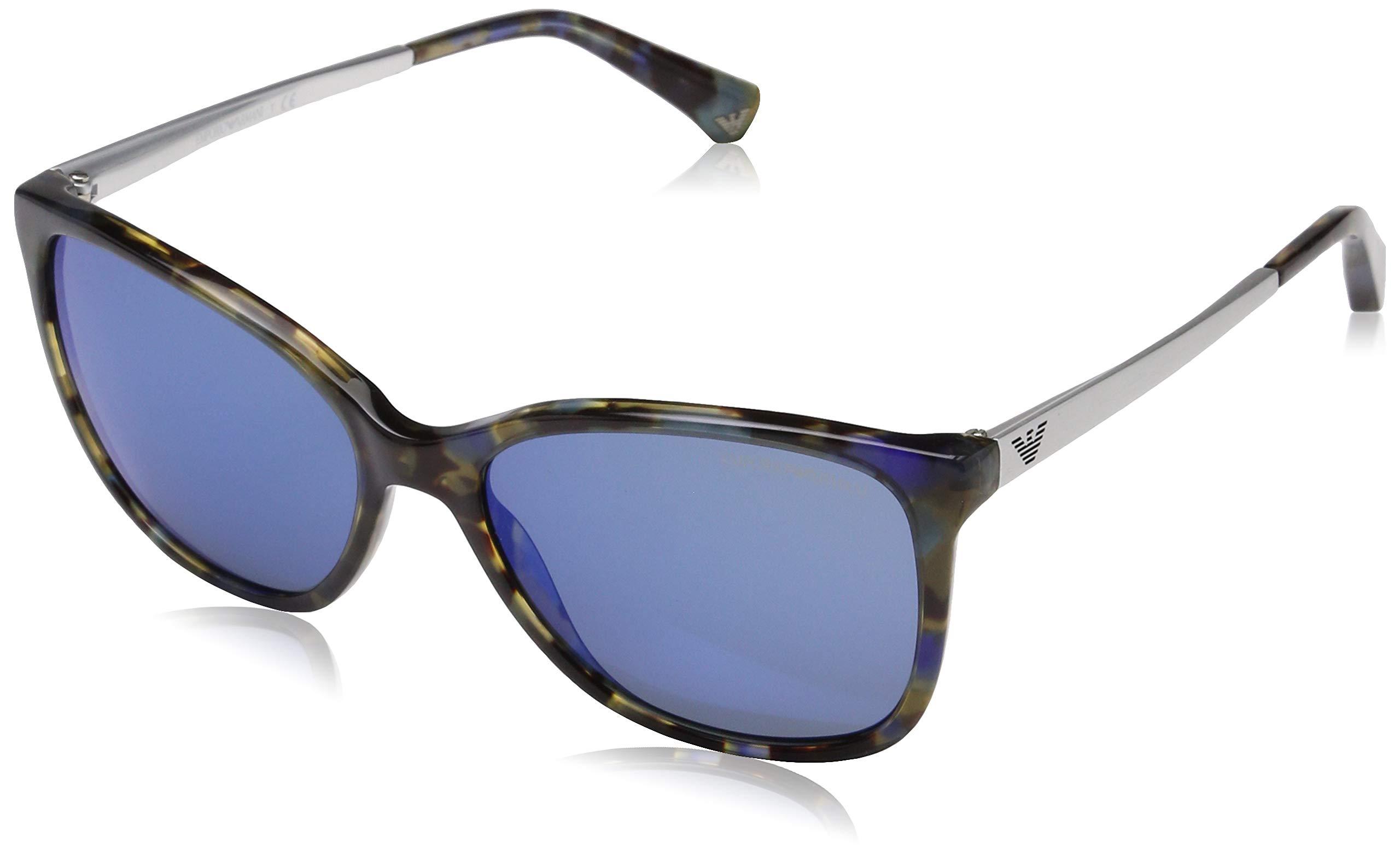 68e1518f550 Giorgio Armani AR8076 - 549671 Sunglasses Striped Green 55mm