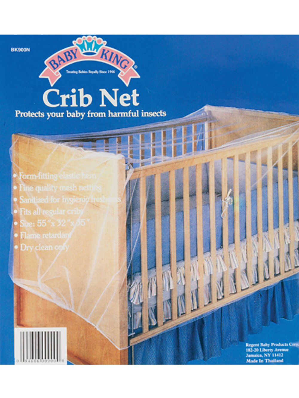 BabyKing Crib Net Baby King
