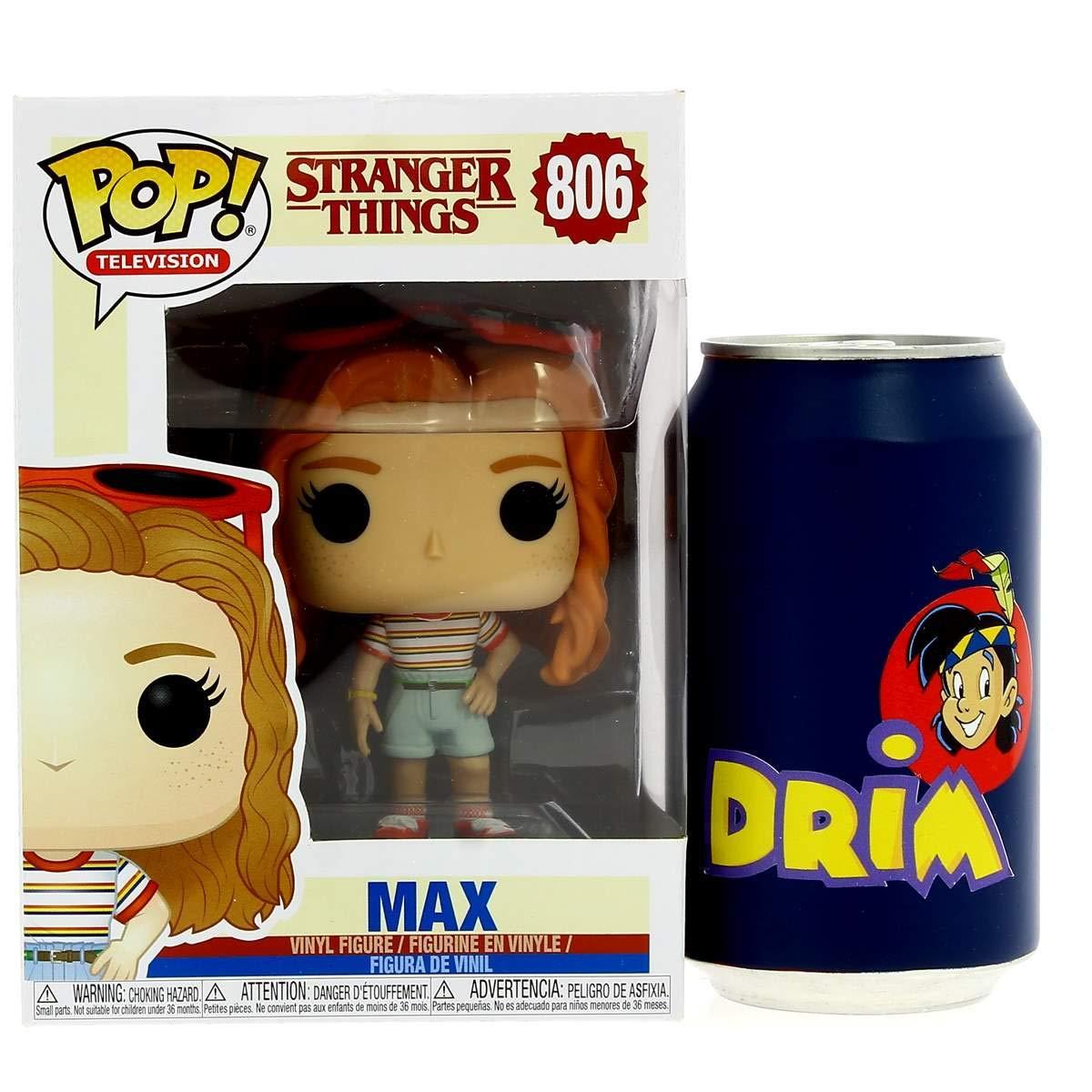 Funko- Pop Vinilo: Stranger Things: MAX Mall Outfit Figura Coleccionable, (38531)