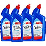 Amazon Brand - Presto! Disinfectant Toilet Cleaner - 1 L (Pack of 4)