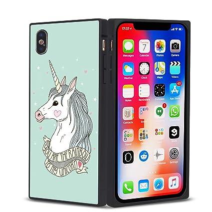 coque iphone x unicorn