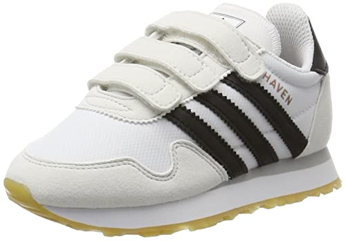 adidas Haven CF C, Zapatillas de Deporte Unisex niños, Blanco Negbas/Ftwbla, 31.5 EU: Amazon.es: Zapatos y complementos