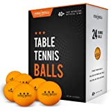PRO SPIN Ping Pong Balls - Orange 3-Star 40+ Table Tennis Balls (Pack of 12 or 24) | High-Performance ABS Training Balls | Ultimate Durability for Indoor/Outdoor Ping Pong Tables, Competitions,Games