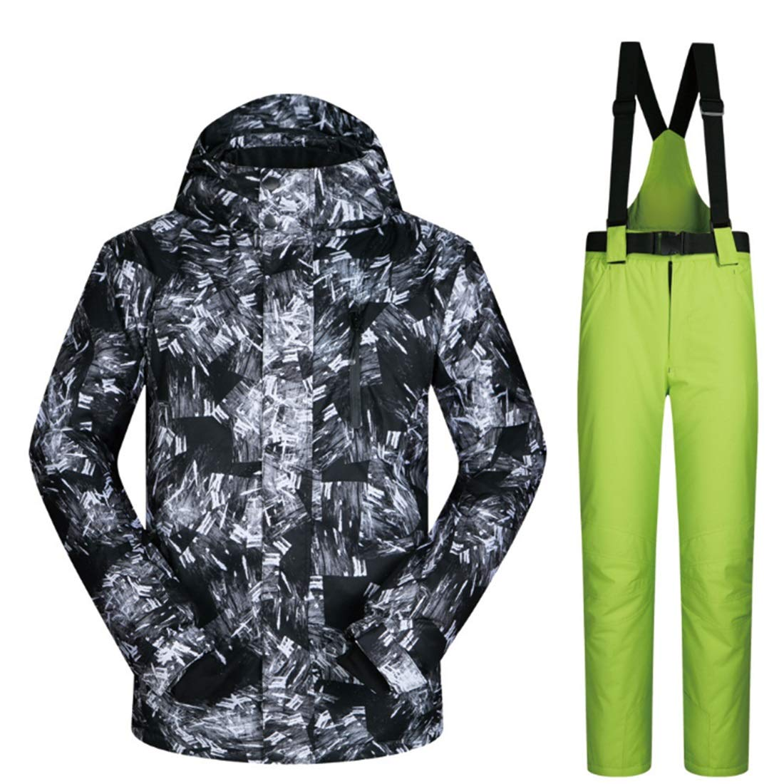 Anglayif Outdoor Escursionismo Neve Sport Sport Sport Sci Giacca e Pantaloni Snow Suit (Coloree   02, Dimensione   L)B07MK1GLGMM 03 | riduzione del prezzo  | I Consumatori In Primo Luogo  | Nuovo mercato  | Alta qualità ed economia  | La prima serie di specifiche 3c9df1