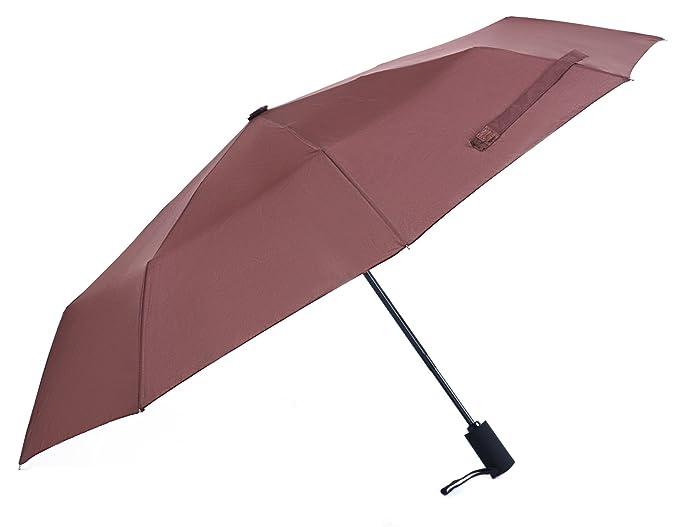 58710701fa22 Woogwin Umbrella, Compact Rain Umbrella Windproof for Women Automatic  Open/close Durability Travel Umbrella