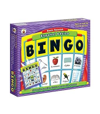 Carson Dellosa CD-8919 Juego de mesa de bingo español básico: Amazon.es: Industria, empresas y ciencia