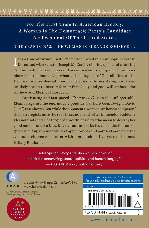 Eleanor Vs Ike: A Novel: Robin Gerber: 9780061373213: Amazon: Books