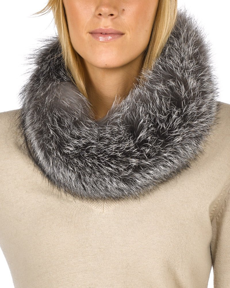 Frr Silver Indigo Fox Fur Headband by frr (Image #2)