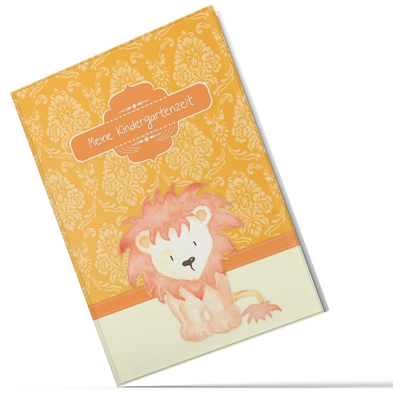 Chemise Mon Temps de jardin d'enfants Lion garç on Idé e Cadeau Anniversaire d'Enfant (10/20 pochettes A4) Olgs Babyartikel 10 Hüllen (A4)