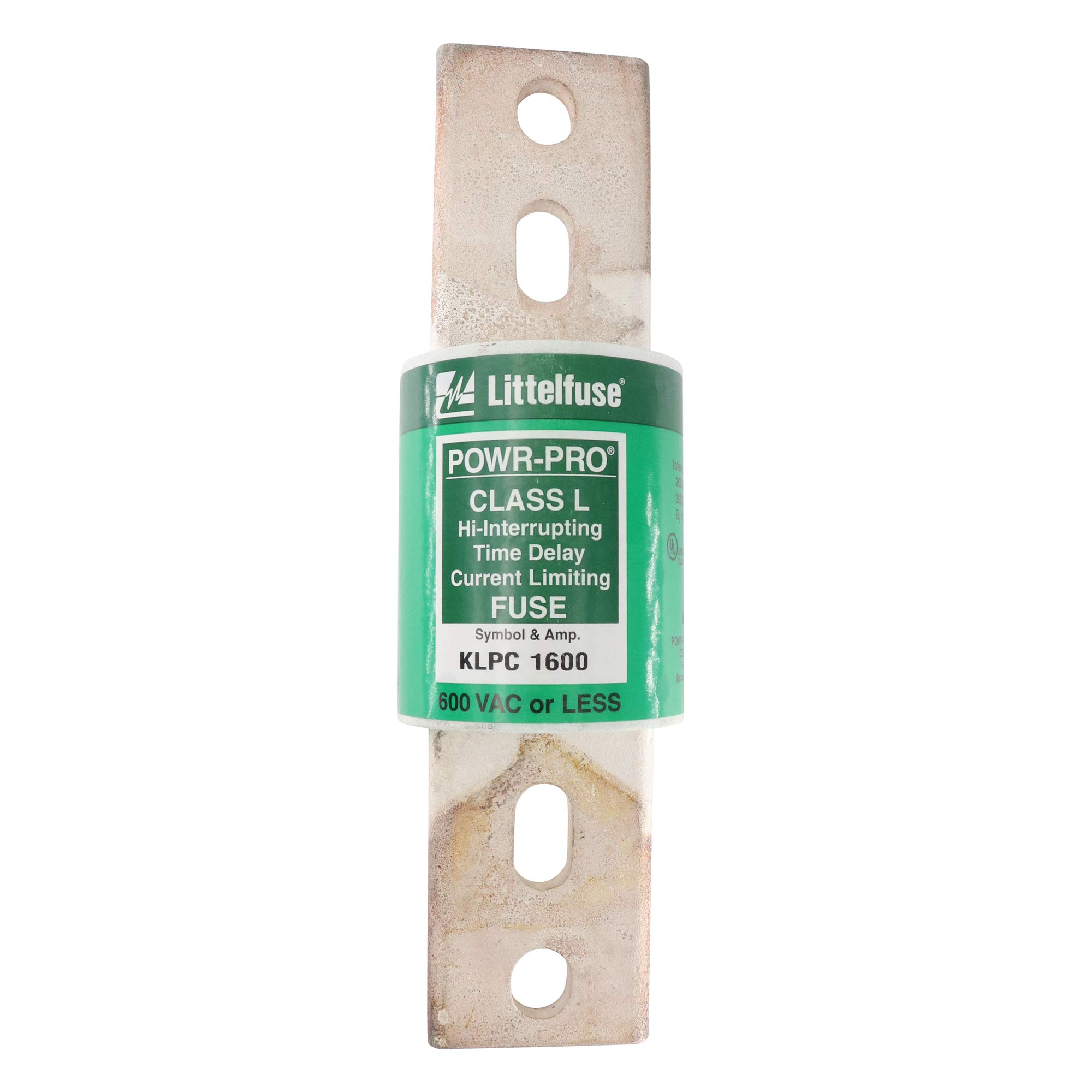 Littelfuse KLPC-1600 Time-Delay Current Limiting Fuse, Class L, 600V, 1600A