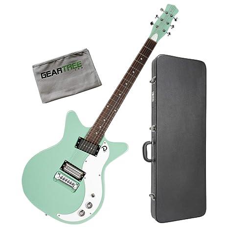 Danelectro 59X - Guitarra eléctrica para cuerpo y cuerpo con caja y ...