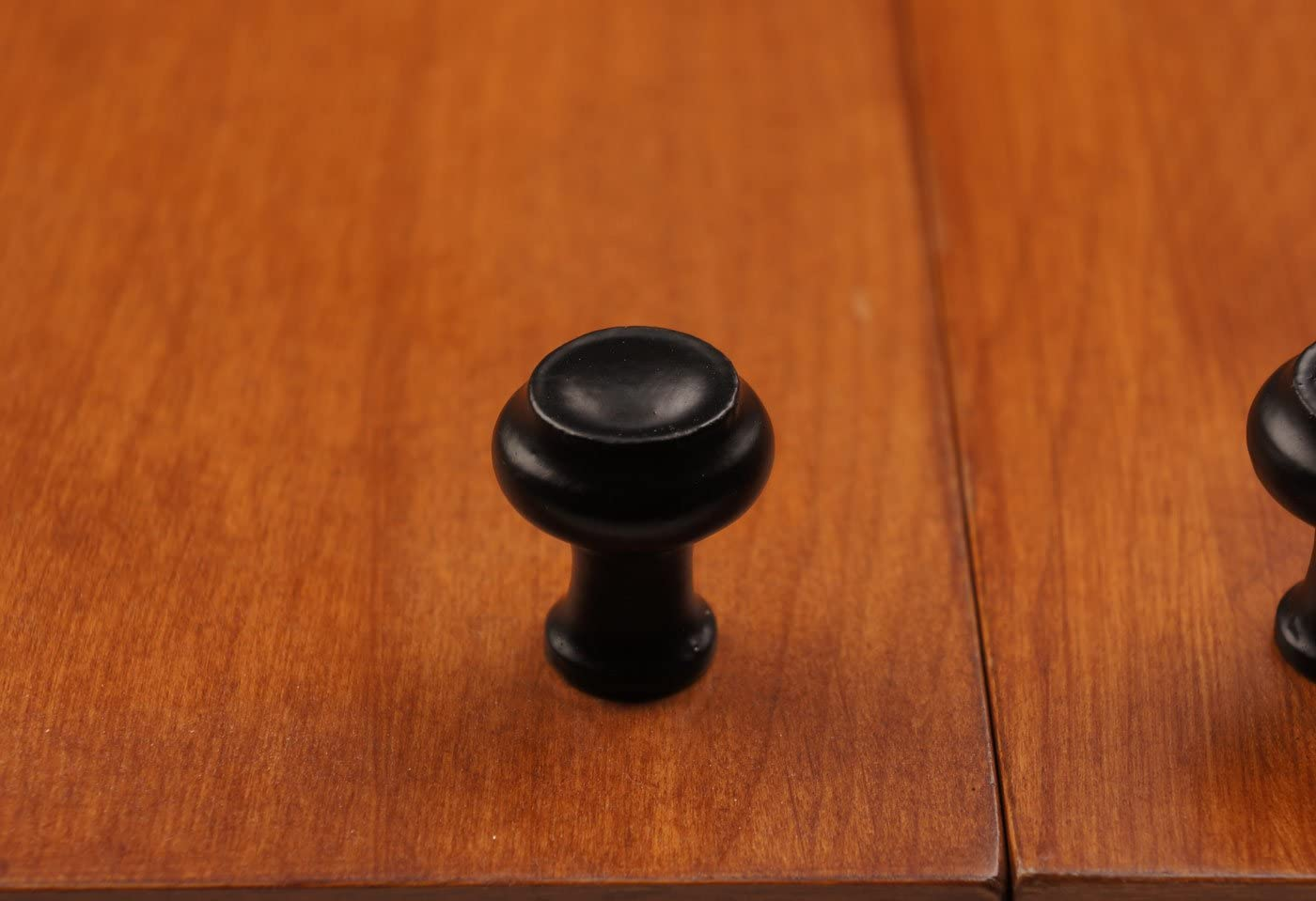 Iron Valley 5 1 Tall Edge Cabinet Knob - Solid Cast Iron Pack of