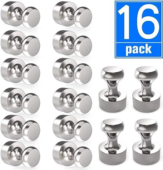 Amazon.com: 16 imanes magnéticos para frigorífico, imanes ...