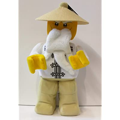 LEGO Ninjago Movie Minifigure Plush - Sensei Wu 853765 (13 Inches): Toys & Games
