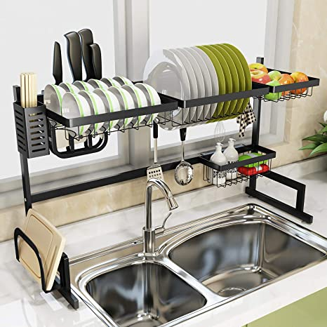 Fine Amazon Com Sink Rack Dish Drainer For Kitchen Sink Racks Download Free Architecture Designs Philgrimeyleaguecom