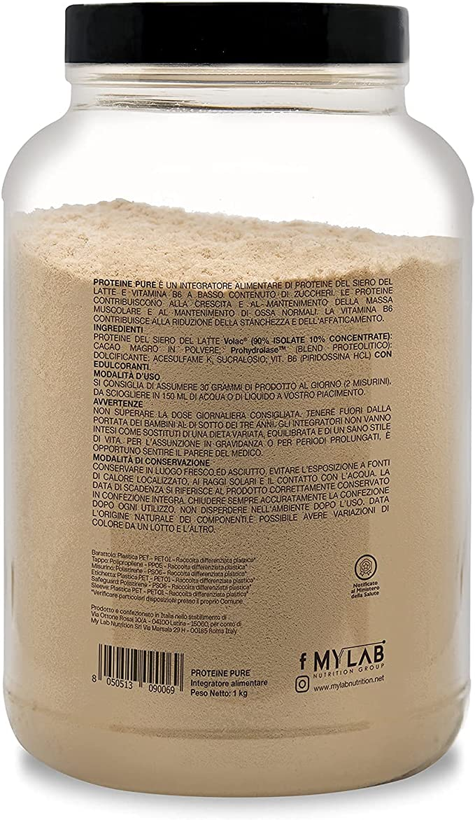 Whey Protein RAPTOR   Proteína de Suero de leche Aislada/Concentrada   VOLAC   Sabor PISTACHO y CHOCOLATE - 1 kg Pack   T-Rex Integratori 100% ...