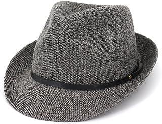 Melodycp Sombrero de Paja para Mujer Dicer Sombrero de Paja Fedora Summer Panama Playa Dicer para Hombres y Mujeres Sombreros de Viaje de Playa (Color : Negro)