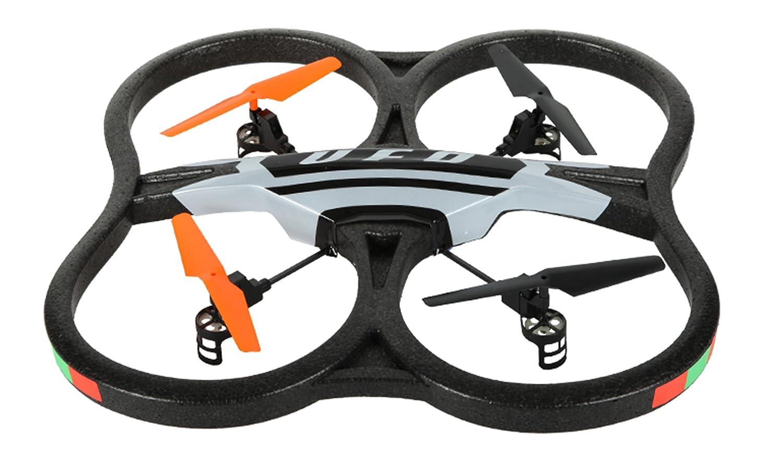 AMEWI 25145 - UFO Intruder, quadricottero a quattro canali con fotocamera integrata