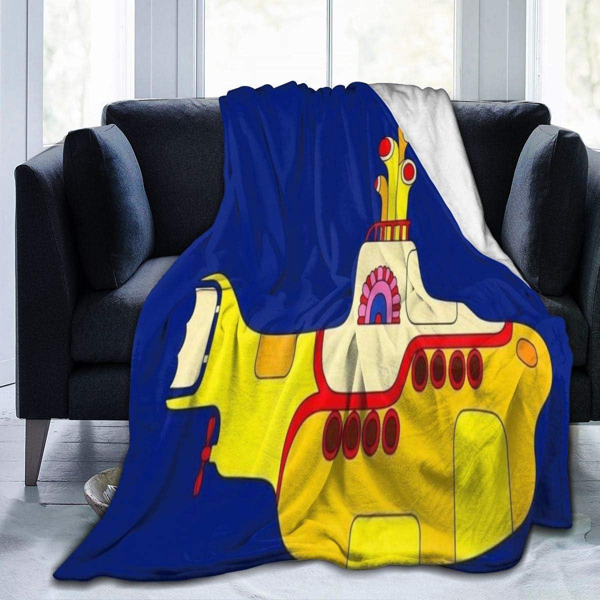 Beatles Yellow Submarine Blanket