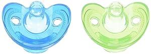 First Years 2 Count Newborn Gumdrop Silicone Pacifier
