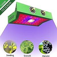 Romancelink COB LED Grow Light 1200W Growing Lamps