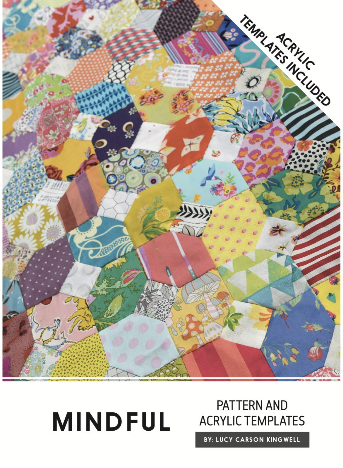 Mindful Pattern and Acrylic Templates Instructions Jen Kingwell Quilting by Jen Kingwell