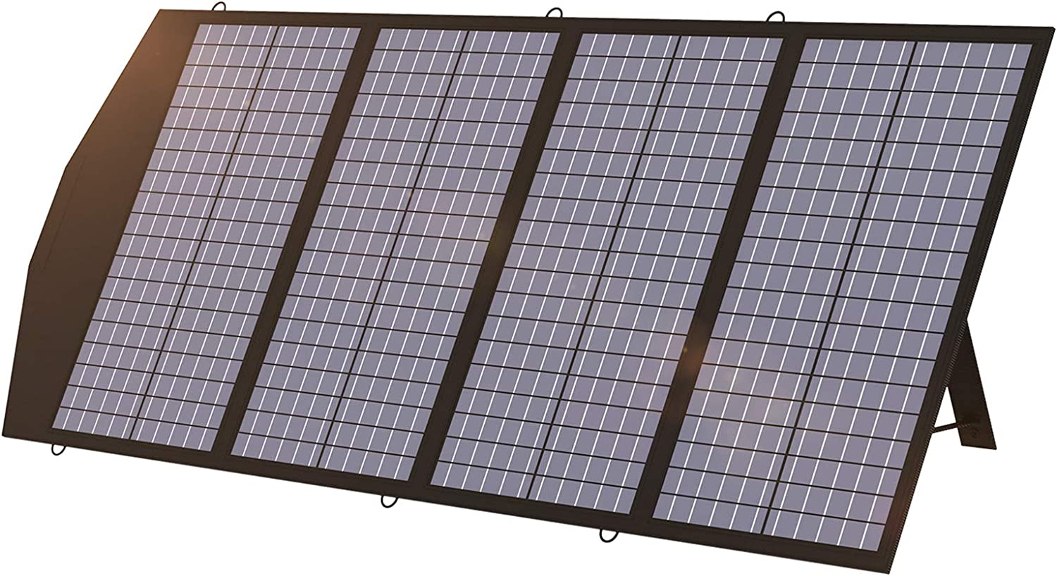 ALLPOWERS 120W Portable Solar Panel Charger for Laptops, Power Station, Foldable US Solar Cell Solar Charger with MC- 4, DC, and USB Output, for Most Solar Generator, Power Station, Cellphone