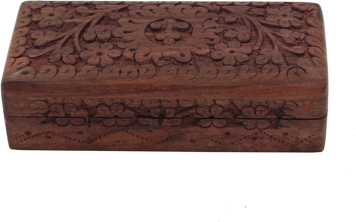 Small Wooden Jewellery Box Tree of Life