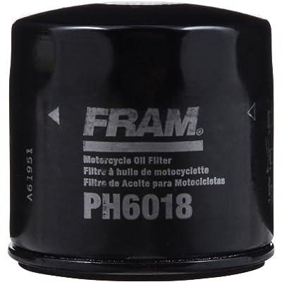 FRAM Black PH6018 Oil Filter: Automotive