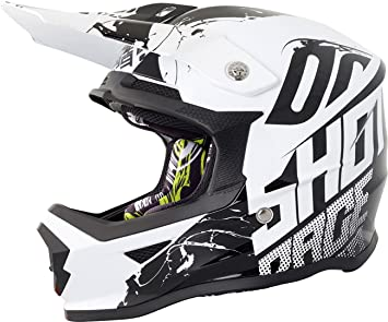 Casco Shot Furious Venom niño negro/blanco, S: Amazon.es ...