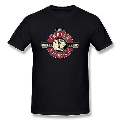 New Lifestyle Men S Indian Motorcycle Logo Short Sleeve T Shirts