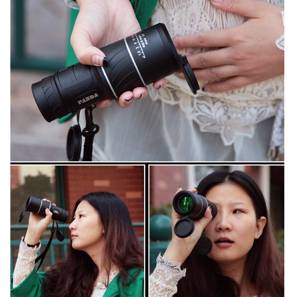 Generic 40 x 60 (18 x 52) teléfono celular Monocular Telescopio ...