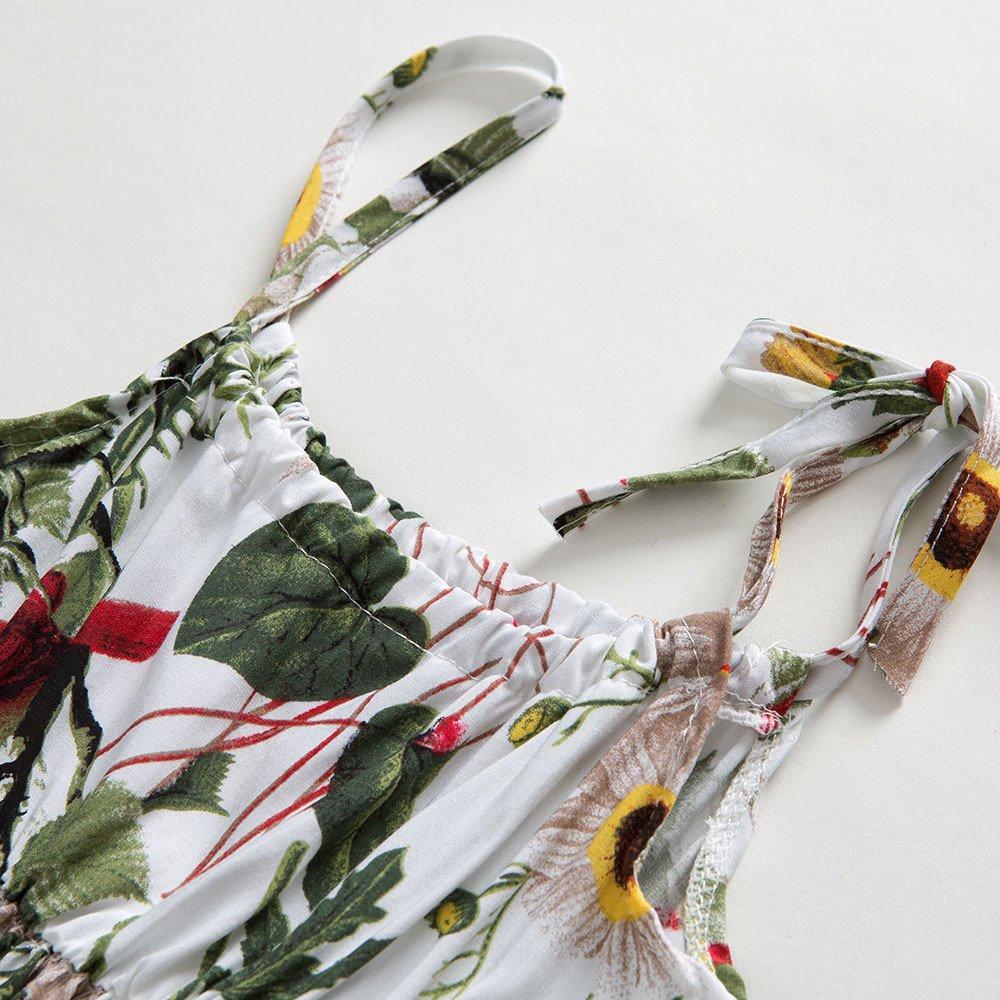 Infant Baby Girls Sundress Princess Summer Casual Dress Playwear Fineser 6-24 Months Girls Sling Dress
