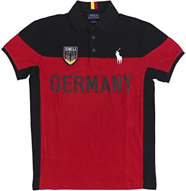 Polo Ralph Lauren - Polo - para hombre alemania S: Amazon.es: Ropa ...