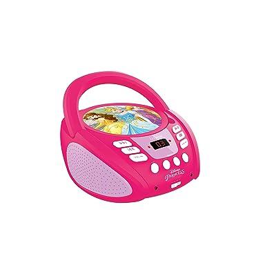 LEXiBOOK Disney Princess Boombox Radio CD Player: Toys & Games
