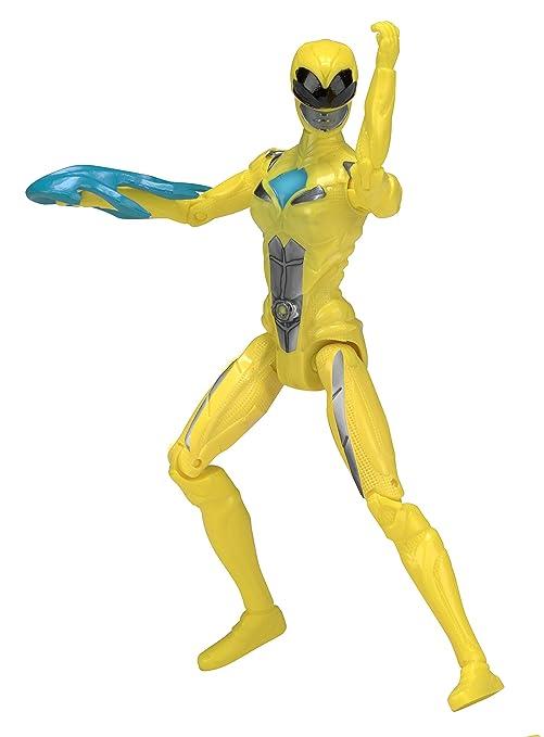 Amazon.com: Power Rangers Movie 12.5cm Yellow Ranger Action ...
