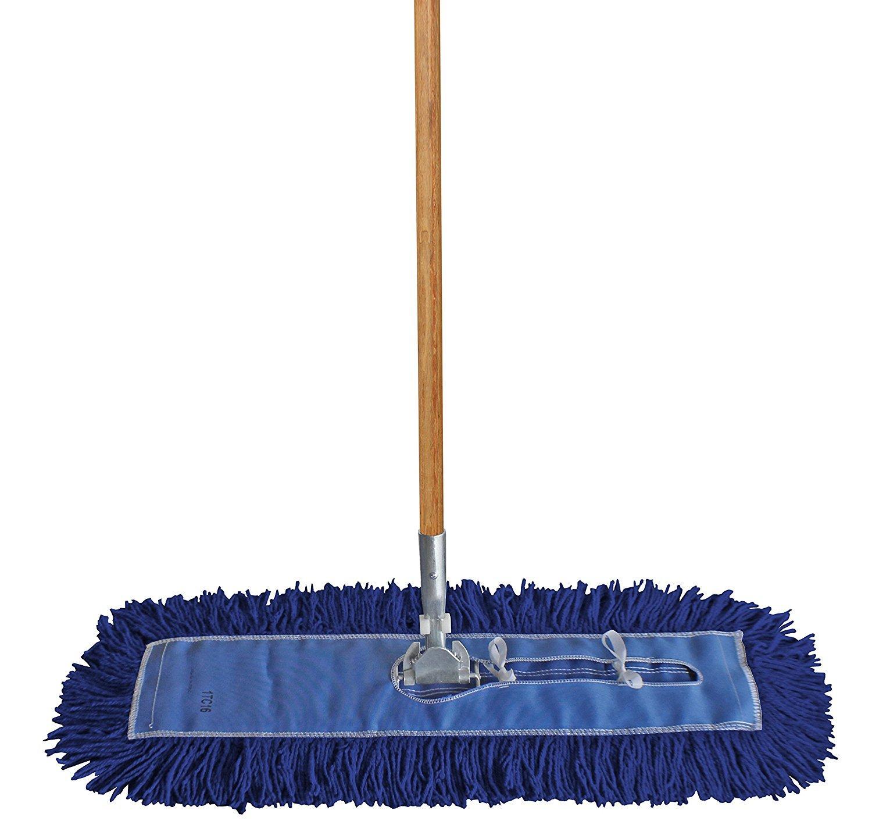 Amazon Com Dust Mop Kit 48 Quot 1 48 Quot Blue Industrial