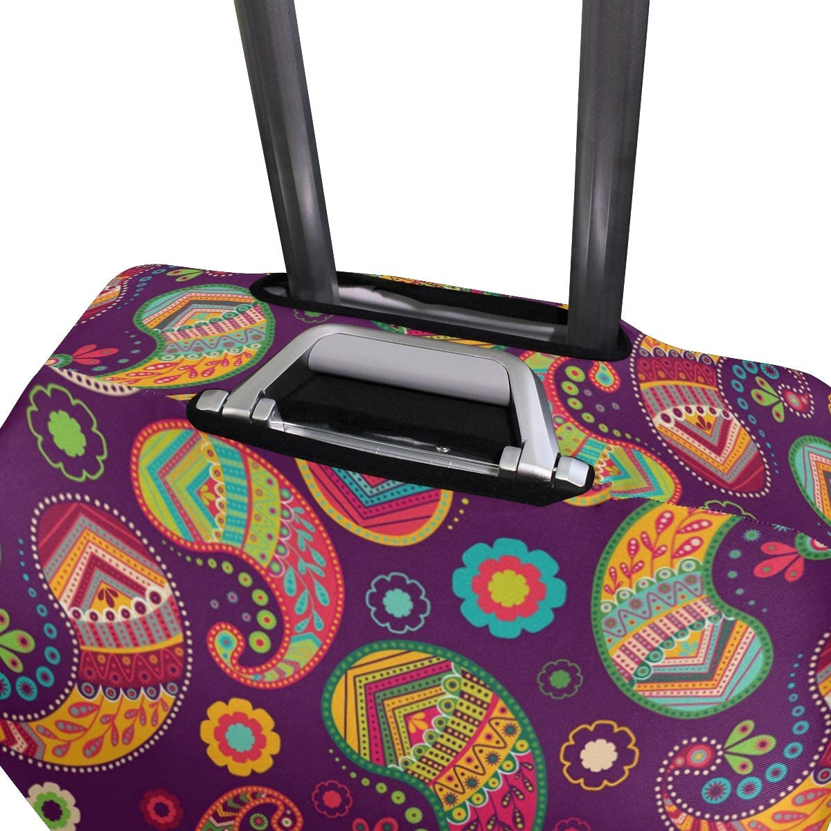 Blue Viper Colorful Elegant Beautiful Paisley Luggage Protective Cover Suitcase Protector Fits 22-24 Inch Luggage