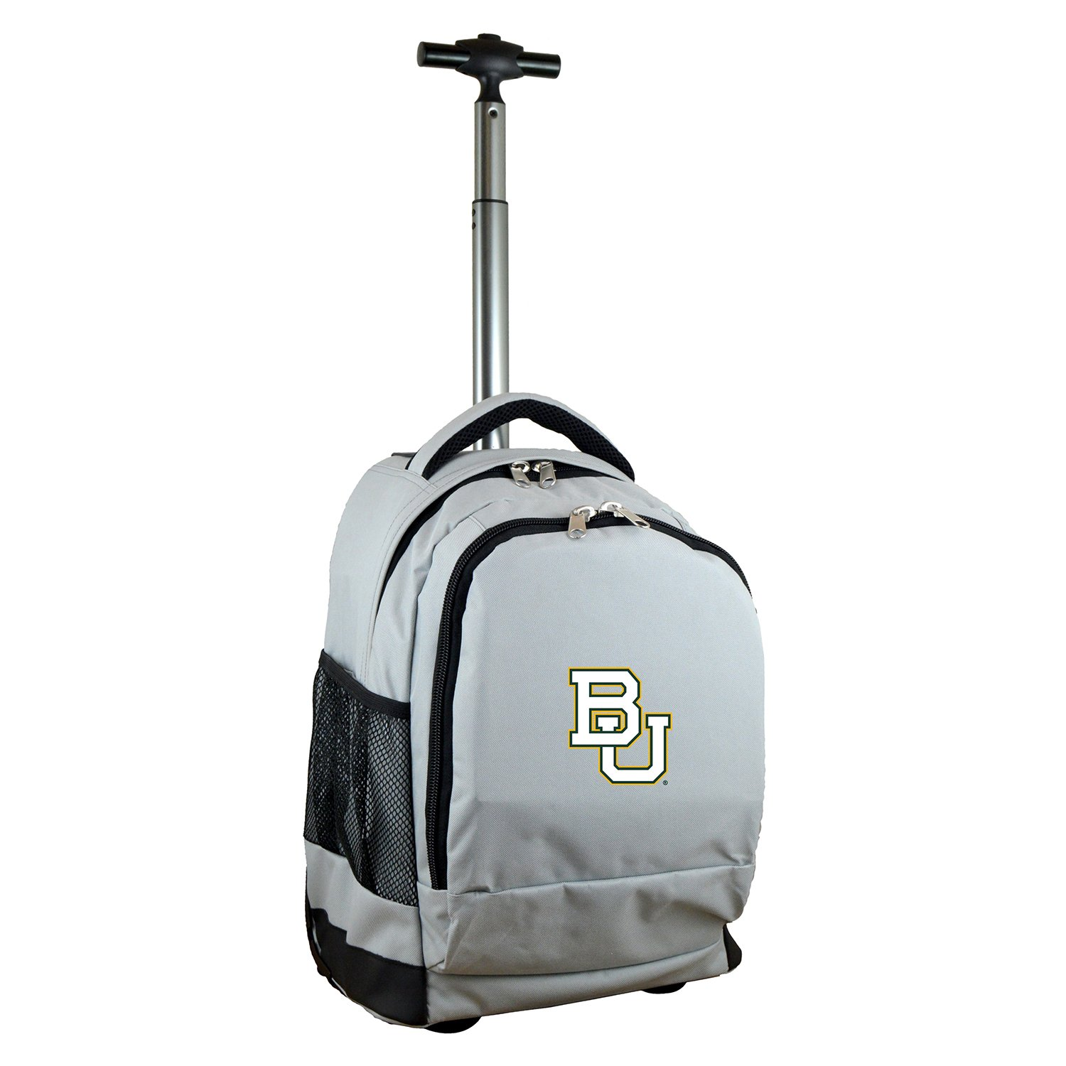 Denco NCAA Baylor Bears Expedition Wheeled Backpack, 19-inches, Grey by Denco (Image #1)