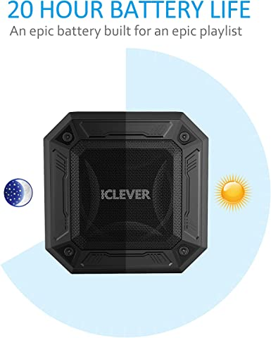 iClever – Bluetooth altavoces con Rich Bass