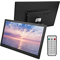 Digital Picture Frame, 15.6Inch 1920 * 1080 HD IPS Screen Metal Digital Photo Frame with Automatic Power On and Off…
