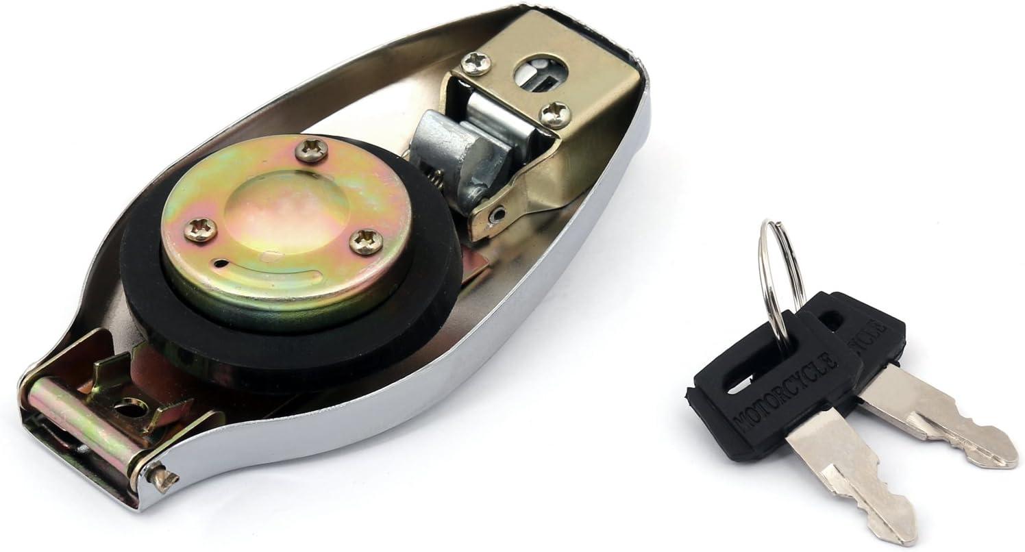 Bruce /& Shark Gas Tank Fuel Cap Keys fit For Ya-maha RD400 TX650 XS650 XS750 XS850 1E7-24602-00-00