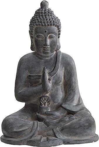 Sunjoy Jane Decorative Buddha Garden Statue