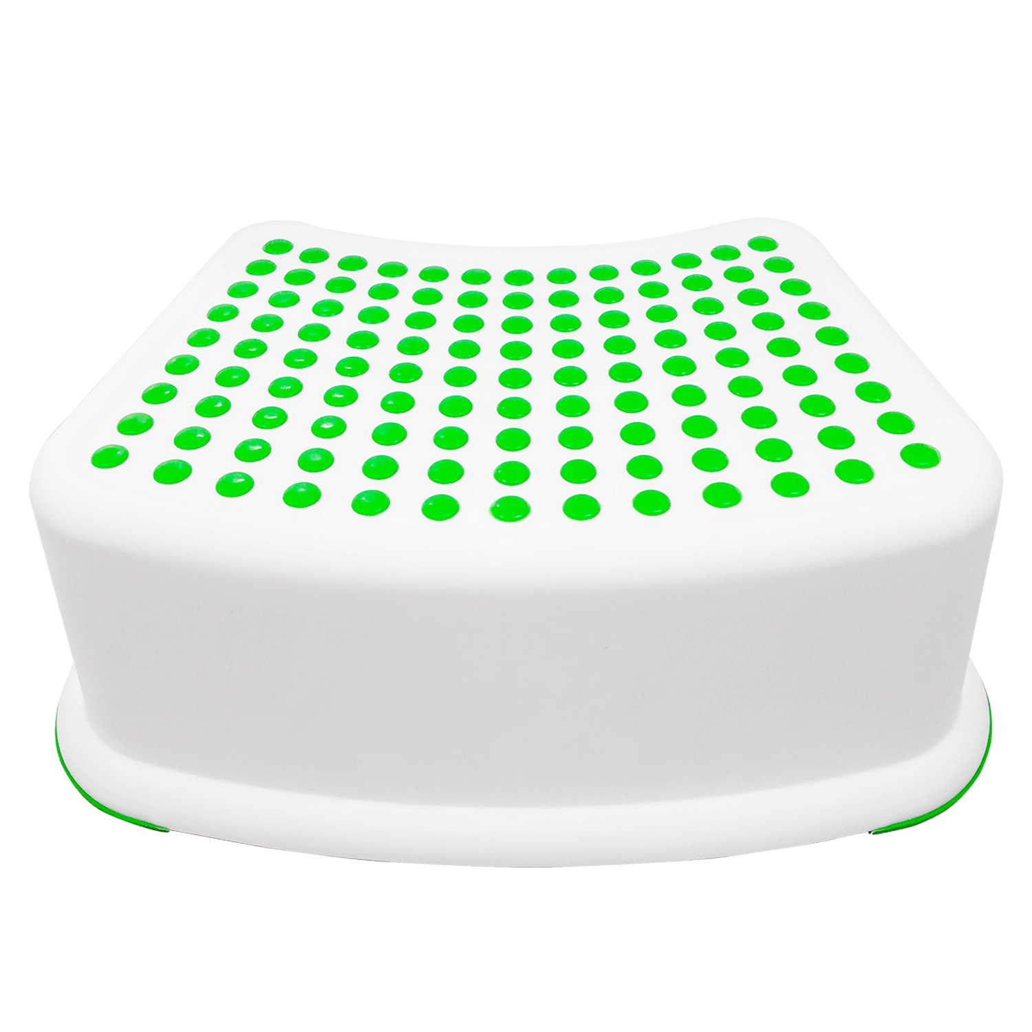 Kids Green Step Stool - Great For Potty Training, Bathroom, Bedroom, Toy Room, Kitchen, and Living Room. Perfect For Your House SYNCHKG103623