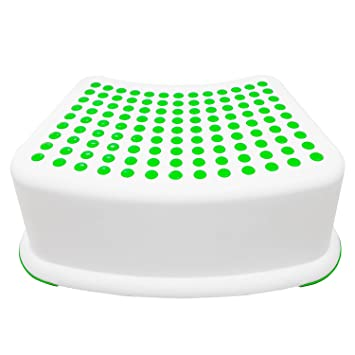 Kids Green Step Stool - Great For Potty Training Bathroom Bedroom Toy Room  sc 1 st  Amazon.com & Amazon.com : Kids Green Step Stool - Great For Potty Training ... islam-shia.org