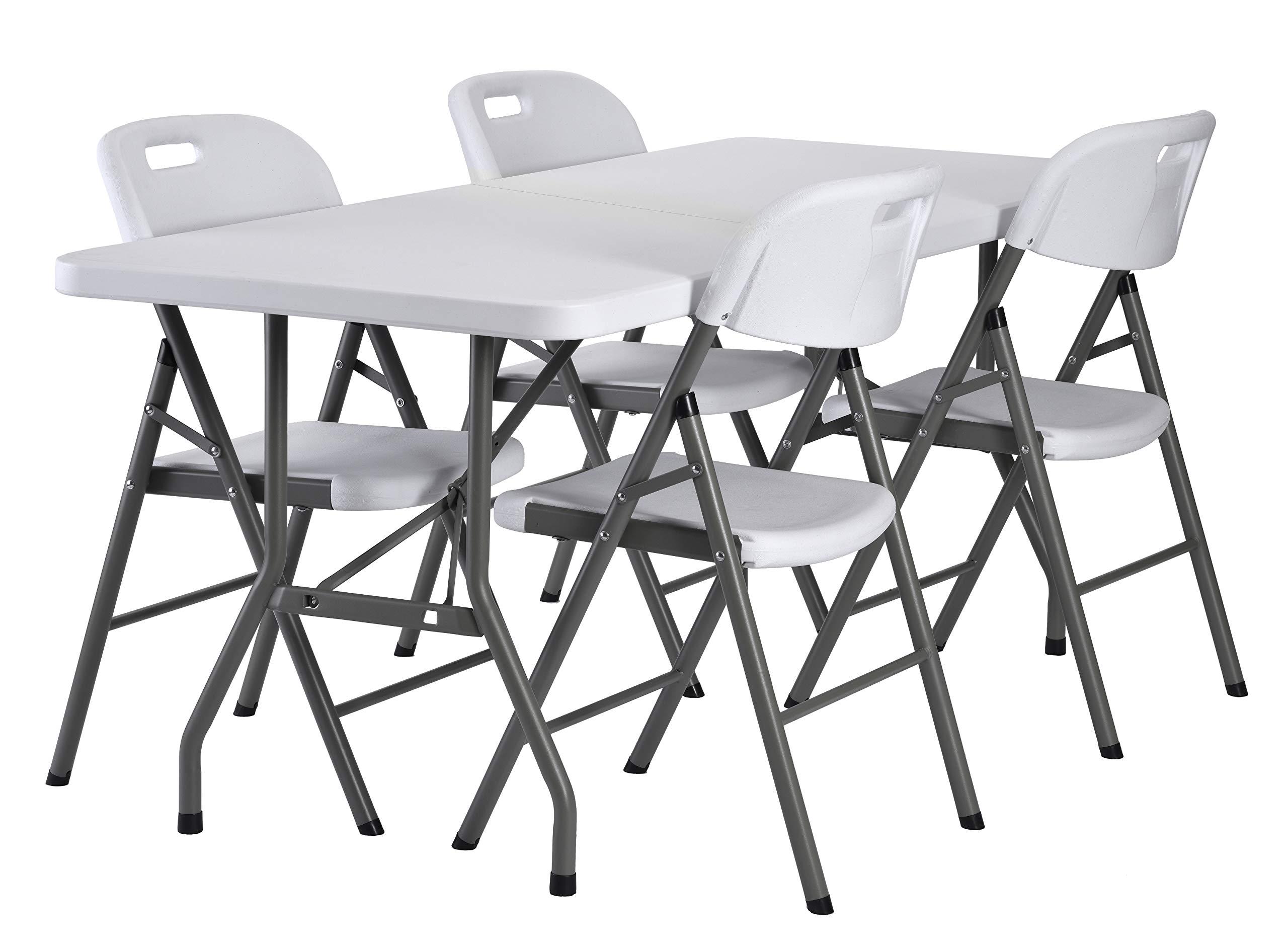 Sandusky Lee FPT7230-WV2 Commercial Fold in Half Utility Table, 6', White, 29'' Height, 72'' Width, 30'' Length by Sandusky (Image #6)